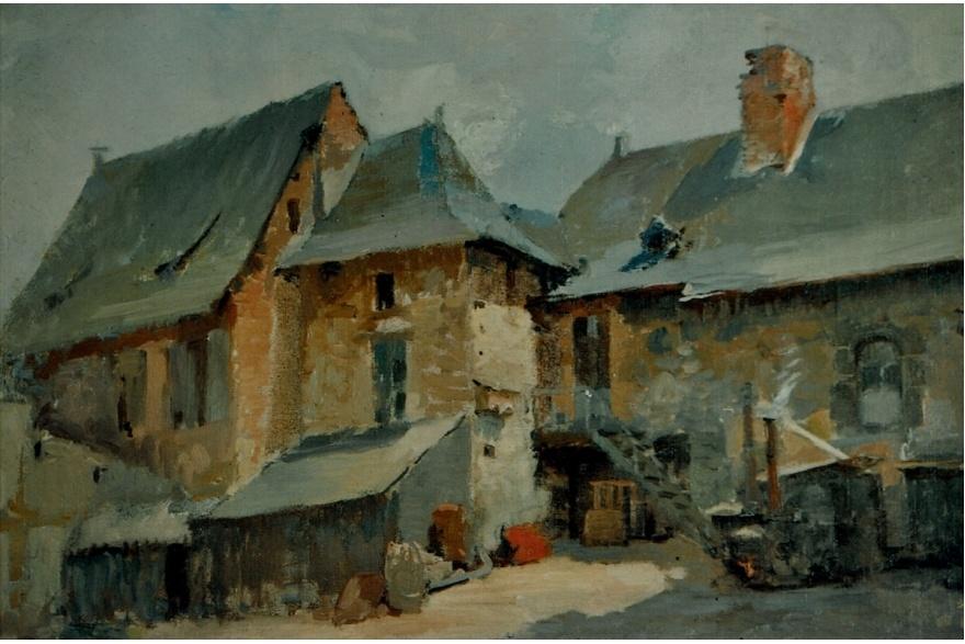 Le logis de la forge par Julien Chappée (1920