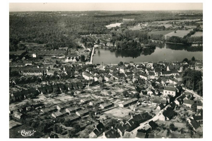 Vue générale de Port-Brillet