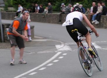 Le triathlon anime le village au mois de juin