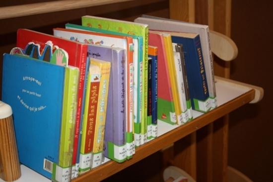 livre en bibliothèque