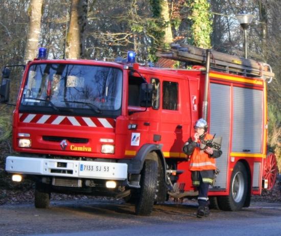 pompiers Port Brillet